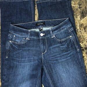 White House Black Market contour jeans